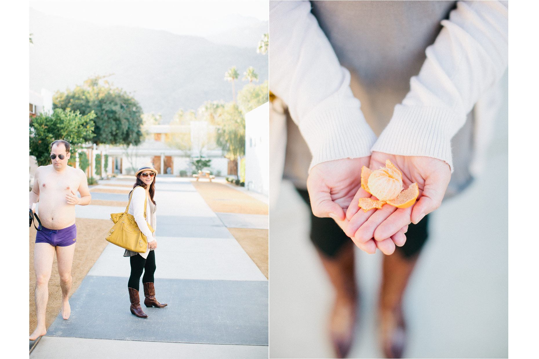 Ace Hotel palm spring wedding photographer editorial wedding photographers modern at parker hotel palm springs
