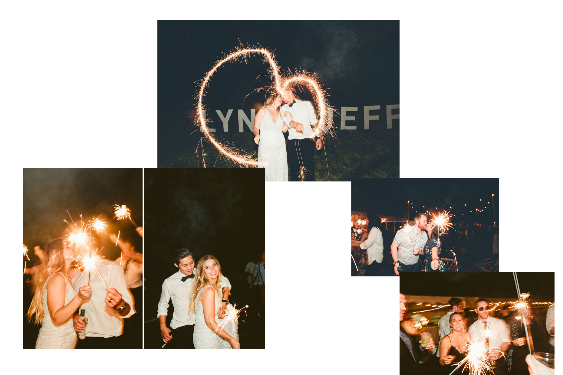 WilmingtonwrightsvillebeachweddingreceptionsparklersNCphotographer